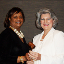 Dr. Bettye Neely and Robin Robinson